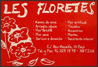 Floristeria Les Floretes Xativa