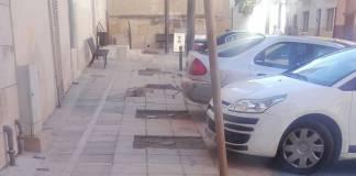 Obras en Xàtiva