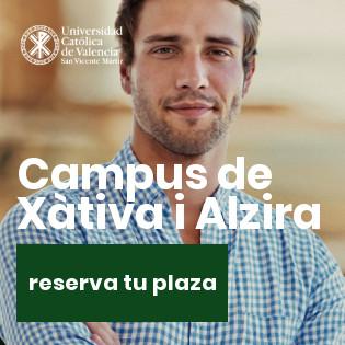 Universidad Católica de Valencia - Reserva de plaza