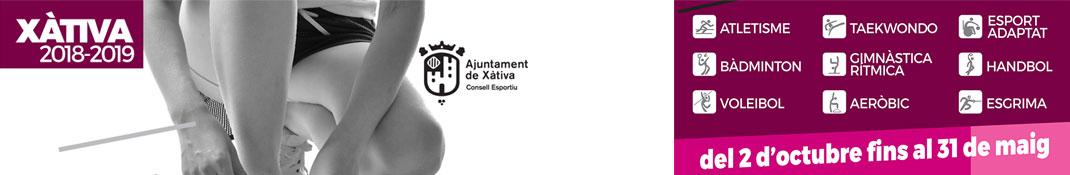 Escoles Esportives Municipals de Xativa - Esport per adults