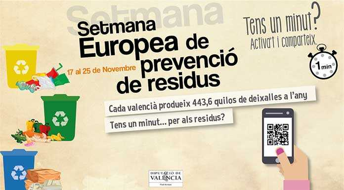 Setmana Europea de prevenció de residus