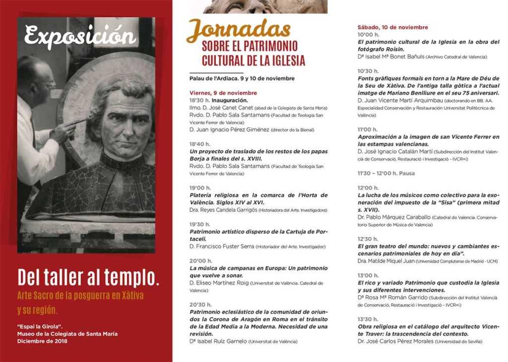 Triptico-II-Bienal Thesaurus Ecclesiae