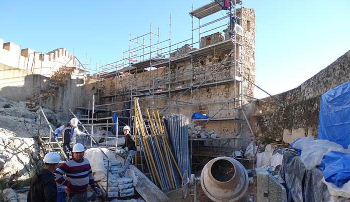 Torre de l'Esperó a Xàtiva