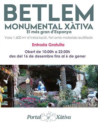 Visita Belén de Xàtiva