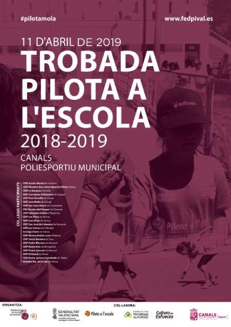 2019.04.11 Canals acull la Trobada Pilota a l'Escola 2018-2019