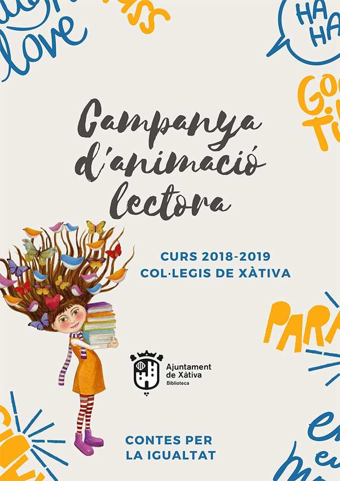 Campaya d'Animació Lectora en la Biblioteca Municipal de Xàtiva