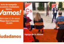 Convocatoria de Ciudadanos (Cs) Xàtiva