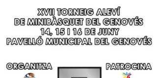 El Torneig Nacional Aleví 2019 de MiniBàsquet ja compta amb el seu cartell