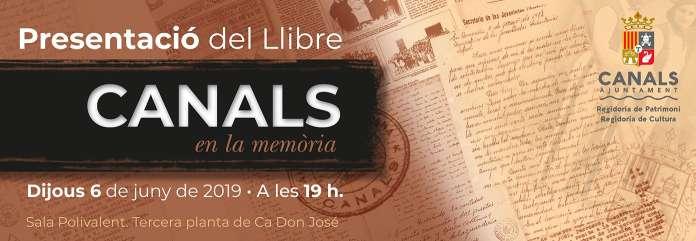 Es presenten dos projectes sobre la memòria històrica de Canals