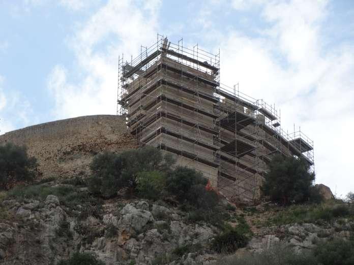 Les obres de la Torre de l'Esperó entren en la recta final
