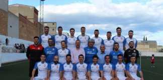 L'equip del C.D. Llosa celebra l'ascens a Regional Preferent