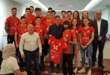 Roger Cerdà anuncia l'ampliació del pavelló de voleibol