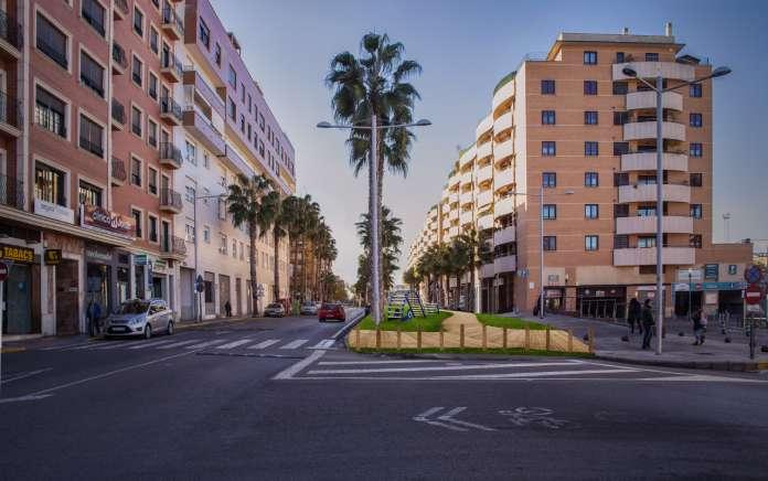 Una nova zona verda a l'avinguda Ausiàs March serà exemple de com guanyar espai per a les persones.