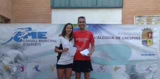 Carlos Borredá y Silvia Sarrión ganan la XXVIII Subida a la Plana