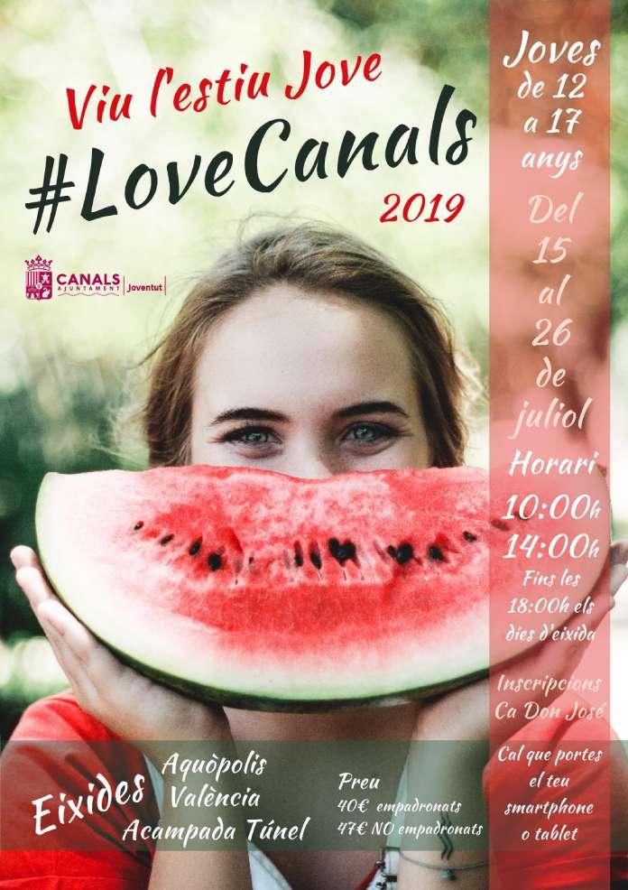 Es repetix el #LoveCanals aquest estiu