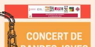 La Societat Musical de la LLosa de Ranes participarà en la XVI Campanya de Concerts d'Intercanvis Musicals