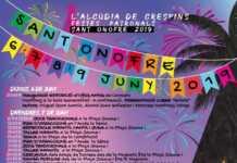 L'Alcúdia de Crespins aglutina música, fuego y tradición en las Fiestas de San Onofre