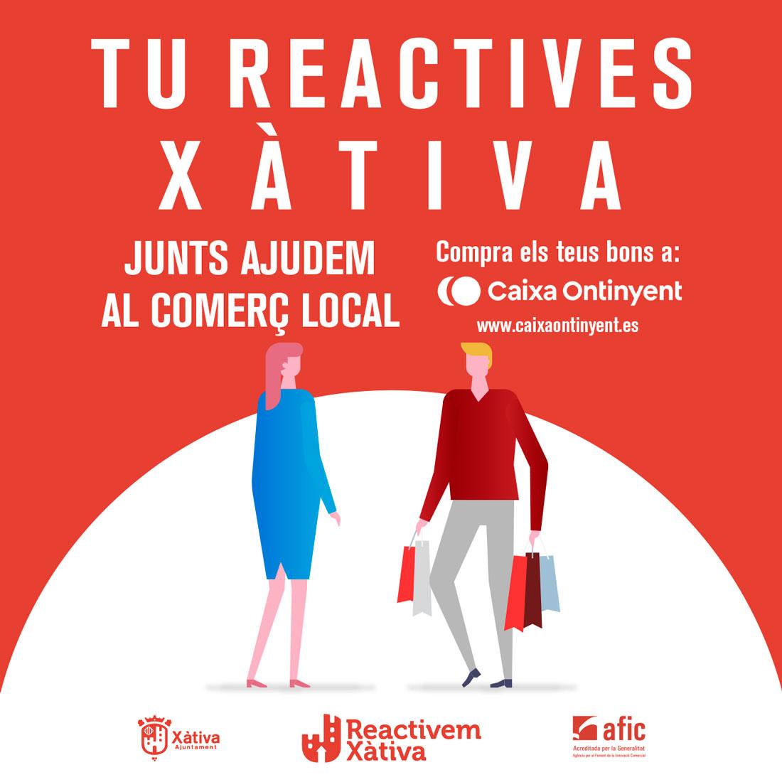 Campanya bons de consum local Xàtiva