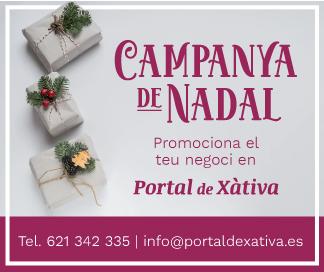 Campanya de Nadal Portal de Xàtiva