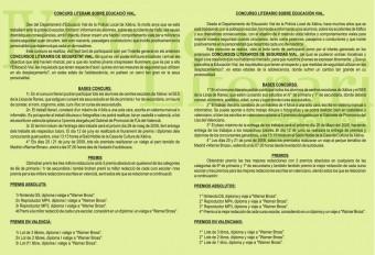 cartel-foro-bases-concurs-literari-2009