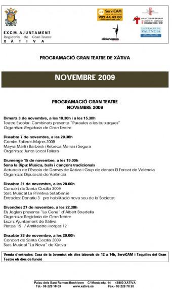 programacio-novembre-2009