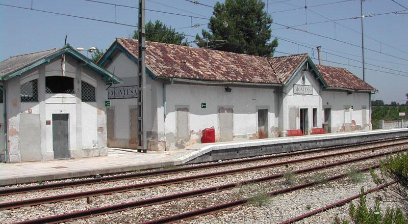 estacion tren alzira: