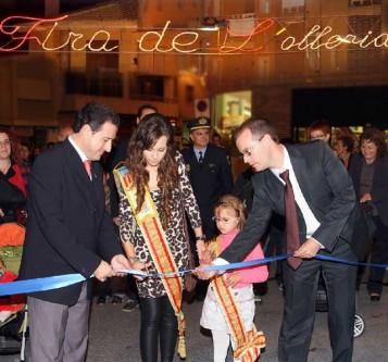 Inauguración Fira de l'Olleria