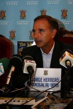 Concejal de Deportes, Jorge Herrero