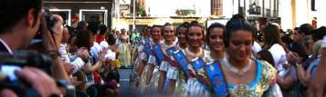 Homenaje Falleras Mayores Comunidad Valenciana