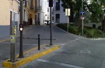 Tancament nucli antic Xàtiva