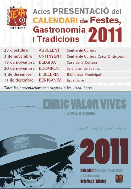 Calendari l'IEVA