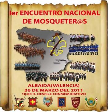 I Encuentro Nacional de Mosqueteros