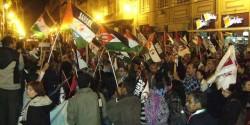 Tercera concentració davant el consolat Marroc