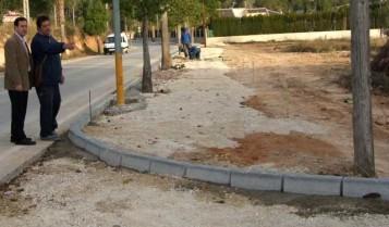 Obras Camino Capuchinos de l'Olleria