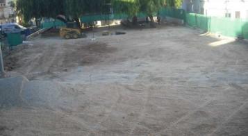 Obres parc Barxeta