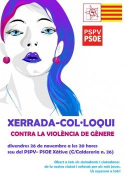 Xerrada PSOE Xàtiva