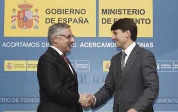 José Blanco y Marcos Sanchis