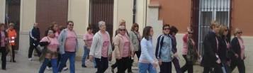 Marcha contra la violencia de género en Canals