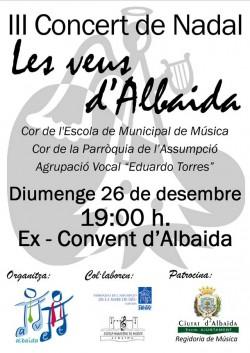 Concert de Nadal a Albaida