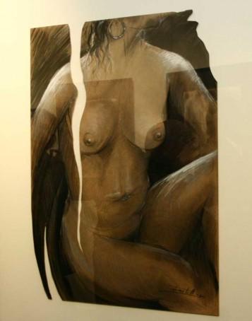 Desnudo, obra Pepe Castells