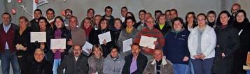 Entrega diplomas en Llutxent