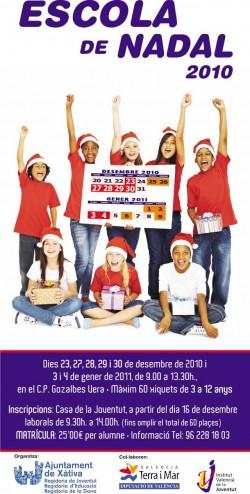 Escuela de Navidad Xàtiva