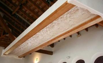 Bóveda renacentista restaurada, expuesta en el Museo de l'Almodí de Xàtiva