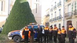 Donación de un coche a protección civil de Canals