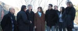 Delegada del Gobierno en la Comunidad Valenciana con Jorge Rodríguez