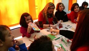 Clase de la Escuela de Navidad de Xàtiva
