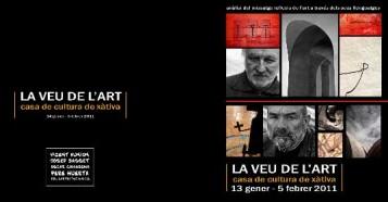 Fullet exposició 'La Veu de l'Art'