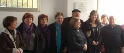 La alcaldesa de Alzira en la inauguración del centro social en La Garrofera