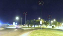 Il·luminació Avinguda de la Ribera en Alzira