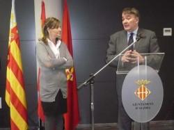 Inauguración del Edificio Sociocultural de Alzira